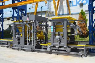 new ELKON ELKOBLOCK-36S FULLY AUTOMATIC SINGLE LAYER Concrete Block Machin block making machine