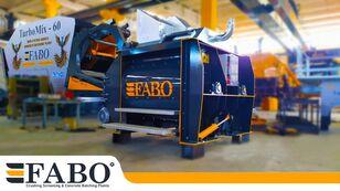 new FABO TWIN SHAFT CONCRETE MIXER concrete mixer