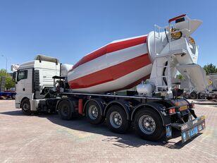 new ALIM mixer semi trailer concrete mixer semi-trailer concrete mixer semi-trailer