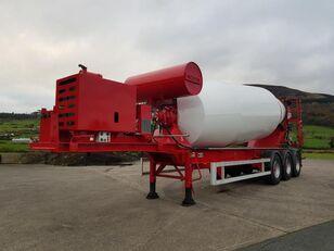 SDC concrete mixer semi-trailer