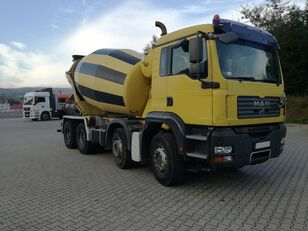 Stetter  on chassis MAN TGA 32.400 8X4  Schwing 9M3 concrete mixer truck
