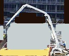 BETONSTAR BSD 18 3R concrete placing boom