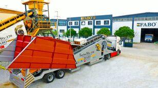 new FABO TURBOMİX 110 CE QUALITY NEW GENERATION MOBILE CONCRETE MIXING PL concrete plant