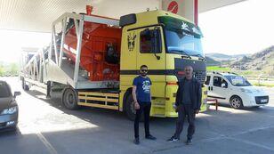 new Plusmix PLUSMİX ST120-TWN Double Chassis -:120m³/hour  Mobile Concrete P concrete plant