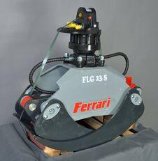 FERRARI Holzgreifer FLG 23 XS + Rotator FR55 F mobile crane