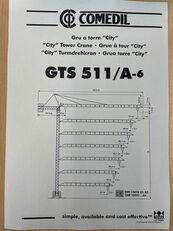 COMEDIL GTS 511 tower crane