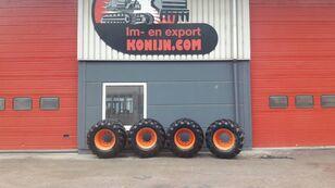 Tianli single tires 600/50x22.5 wheel excavator
