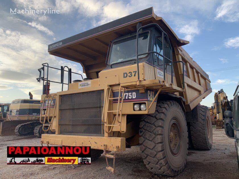 CATERPILLAR 775D haul truck