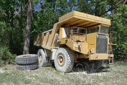 FAUN K55.6 haul truck